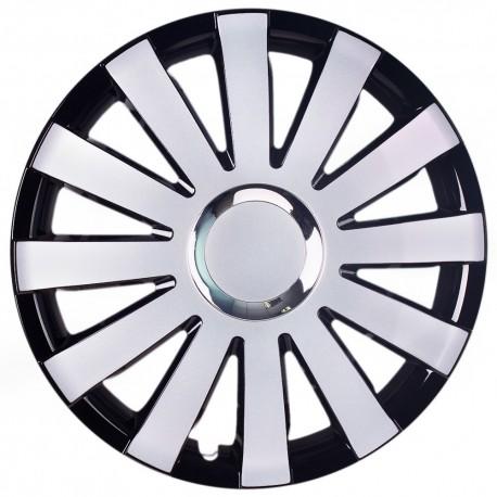"""Колпак Olszewski ONYX 16"""" black silver"""