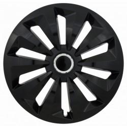 Комплект колпаков Jestic 13 FOX RING BLACK (4 шт)