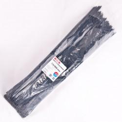 Хомут пластиковый 7,6 x 500 - черний - 100 шт.