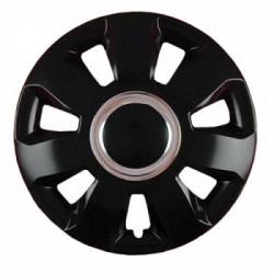 Комплект колпаков Jestic 14 ARES RING BLACK (4 шт)
