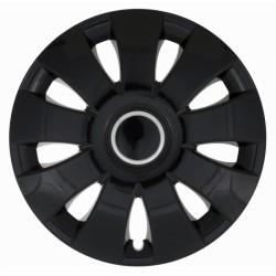 Комплект колпаков Jestic 14 AURA RING BLACK (4 шт)
