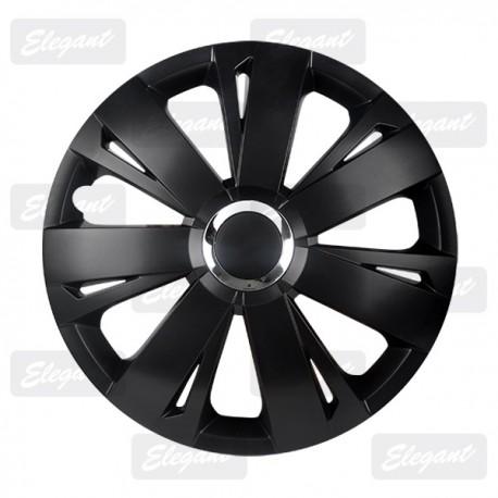 Колпак ELEGANT 15 ENERGY RC black (4 шт.)