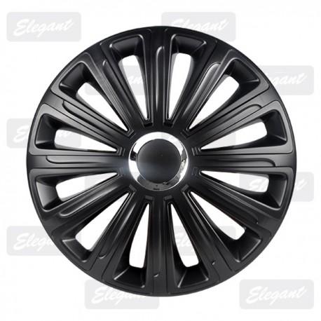 Колпак ELEGANT 15 TREND RC black (4 шт.)